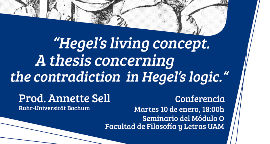 Hegel's living concept. A thesis concerning the contradiction in Hegel's logic.